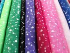 Dressmaking-Sewing-SEQUIN DRESS NET-TULLE-MESH-Fabric-Various Lengths-SEWING BEE
