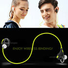 Sport Wireless Stereo Bluetooth Headset Headphone Earphone For Smartphone Tablet