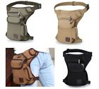 Multifunction Drop Leg bag Motorcycle Dirt Bike Cycling Thigh Pack Waist Belt C