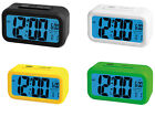 Trevi Digital Bedside Alarm Clock Available In 4 colours FREE DELIVERY