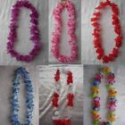 Garlands Hawaiian Flower Lei, Tropical Party Fancy Dress 12 Colour