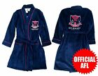 Boys AFL Licensed Fleece Dressing Gown Robe sz 8 12 16 Melbourne Demons