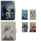 For Allview fine PU Leather Phone Case Cover Printed Cute girl