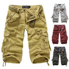 Summer Cheap Men's Casual Military Cargo Pants Work Short Sports Combat Trousers
