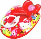 Hello Kitty Baby Kids Swimming Pool Inflatable Float Swim Seat Ring w/Horn Wheel