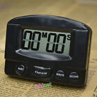 Mini LCD Digital Count Up Down Kitchen Cooking Timer Magnetic Electronic Alarm photo