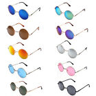 2015 New Mens Womens Sunglasses Hippie Retro Vintage Round Metal Fashion Eyewear