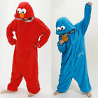 Mens Ladies Xmas Fancy Dress Animal Onesie Pajamas Adult Onsie Sleepwear Costume