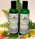 earthbody LEMON CYPRESS REBALANCE SHAMPOO & CONDITIONER ~ 100% NATURAL