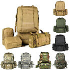 Men Military Tactical Assault Backpack Rucksack Molle 3 Day Camping Hiking Bag