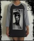 Unisex Pharrell Williams Raglan 3/4 Length Sleeve Baseball T-Shirt (Vest)