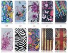 For iPhone Classical Mobile cell phone leather case with card holder
