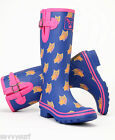 Evercreatures Ladies Wellies Winter Boots Rain Boots Rubber Festival Wellingtons