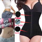 Belly Black Corset Waist Trainer Cincher Slim Body Shaper Underbust Shapewear US