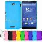 Shockproof Hard Rubberized Matte Cover Shell Case Skin For For Sony Xperia E4