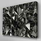 AB297 Metallic Prisms Abstract Canvas Wall Art Ready to Hang Picture Print