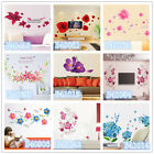 Super Flowers Home Room Decor Removable Wall Stickers Decal Decoration