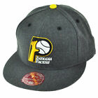 NBA Mitchell & Ness TX59 Indiana Pacers HWC Heather Wool Fitted Hat Cap