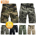 Men's Mode Cargo Shorts Pants Trousers Casual Trousers Combat Army Military
