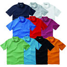 New Ashworth Performance EZ-SOF Solid Golf Shirt Classic Polo -Pick Color & Size