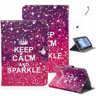 """For RCA 7"""" 8"""" 10"""" inch Tablet PC Universal Flip PU Leather Stand Case Cover +Pen"""