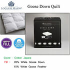 85% Goose Down 15% Feather Quilt Doona Duvet by Ultima QUEEN KING Super King