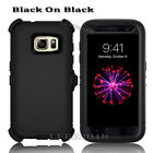 Heavy Duty Protection Defender Case Cover Samsung Galaxy [Clip Fits Otterbox]