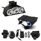 7500LM 3xT6 LED Front Bike Bicycle Cycling Headlight flashlight headlamp outdoor
