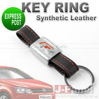 SYNTHETIC LEATHER ALLOY METAL KEY RING FOBS KEYCHAIN for VOLKSWAGEN CAR INTERIOR