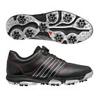 New Adidas Tour 360 X BOA Closure Climaproof Golf Shoes Black/Red - Pick Size