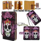 Folio Flip Stand Card Wallet Leather Cover Case For Various Nokia Lumia Phones