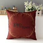 Linen Throw Wizard Hat Pillow Case Back Cushion Cover Home Sofa Decorative 17''