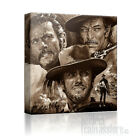 THE GOOD BAD & UGLY CLINT EASTWOOD SUPERB ICONIC CANVAS ART PRINT Art Williams