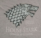 "NEW MENS ""HOUSE STARK WINTER IS COMING GAME OF THRONES"" TANK TOP TV SHOW SHIRT"