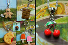 ICE LOLLY LOLLIPOP BISCUIT CHOCOLATE CAKE WINE KEYRING GINGERBREAD NECKLACE