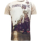 Mens Criminal Damage T-Shirt 'Boulevard' White