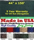 "3' 8"" x 150' 90% Shade Cloth Privacy Screen Wind Sun Bloc..."