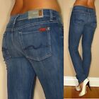 $189 Seven 7 For All Mankind Roxanne Classic Skinny Stretch Jeans Medium 24-26