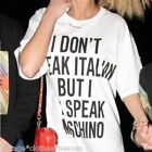 I DONT SPEAK ITALIAN BUT I DO SPEAK MOSCHINO TSHIRT NOT ON MY BITCHES TOP UNISEX