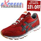 Onitsuka Tiger Mens Harandia Retro Running Shoes Trainers Red *AUTHENTIC*