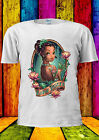 Disney Princess Tiana Indian Tattoo T-shirt Vest Tank Top Men Women Unisex 127