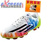 Adidas Junior Kids Boys F5 TRX HG Lionel Messi Football Boots White *AUTHENTIC*