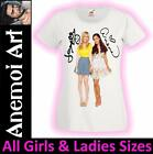 L300 Signed Ariana Grande Jennette Mccurdy autograph signature t shirt tee t
