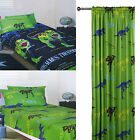 T-REX Dinosaurs -Choice of Quilt Cover Set, Sheet Set, Curtains - SINGLE DOUBLE