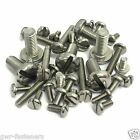 M4/4mm A2 Stainless Steel Slotted Pan Head Machine Screws/Bolts DIN85