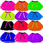 NEON TUTU SKIRT 80'S FANCY DRESS HEN PARTY