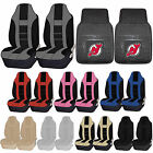 NHL New Jersey Devils Rubber Floor Mat High Back Seat Cover Universal Combo $59.95 USD on eBay