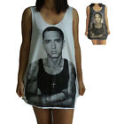 Eminem Marshall Mathers Mens Womens Ladies Vest Tank Top Singlet Dress T-Shirt