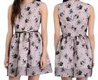 NWT AUTH RED Valentino Tulle Overlay Swan Print Dress