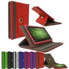 """Universal 360° Rotating Leather Stand Cover 7"""" & 8"""" Inch Tab Android Tablet PC"""